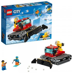 LEGO City Great Vehicles Snow Groomer 60222 Free Shipping