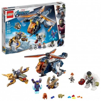 LEGO Super Heroes Marvel Avengers Hulk Helicopter Rescue 76144 Free Shipping