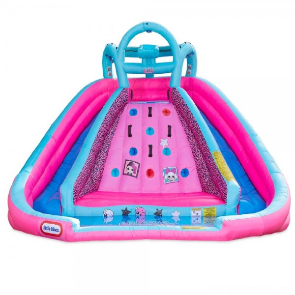 L.O.L. Surprise! Inflatable River Race Water Slide with Blower, Kids Unisex Free Shipping